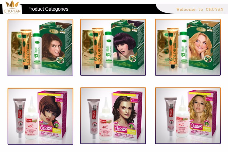 Competitive price non-toxic tancho non allergic hair dye cream professional natural hair dye