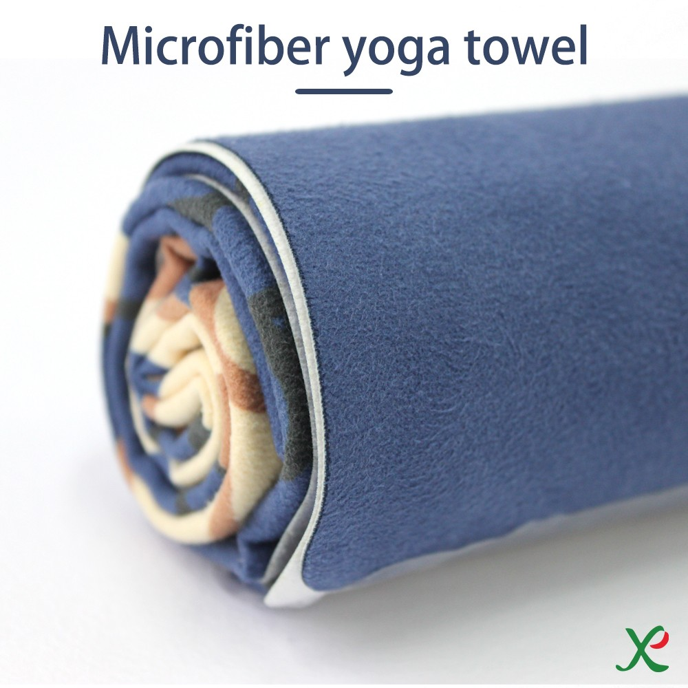 china supplier yarn dyed yoga towel printed made in china