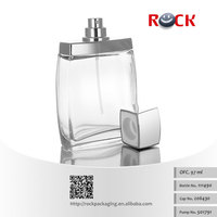Wholesale 100ml Custom crystal empty glass perfume bottle,man spray glass bottle111490