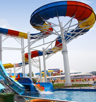 Fashion Slides for Lakes / Water Slide for water park construction