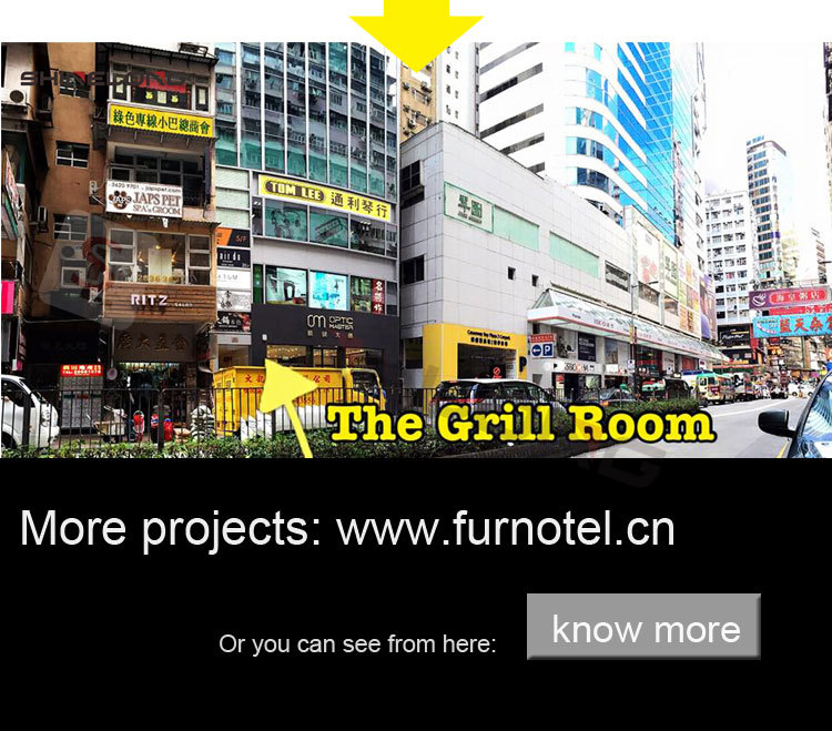 Hongkong The Grill Room Kitchen Project Equipment By Shinelong