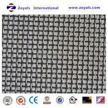 ultra fine stainless steel crimped wire mesh for fence Exporter ISO9001