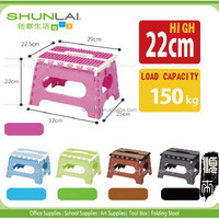 Anti Slip Plastic Folding Step Stool