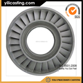 superalloy vacuum casting 145mm turbine wheel for aviation engine parts