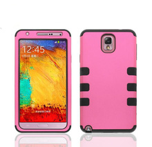 Mobile phone covers for samsung galaxy grand,3 in 1 Heavy Duty case for n9000, for samsung note 3