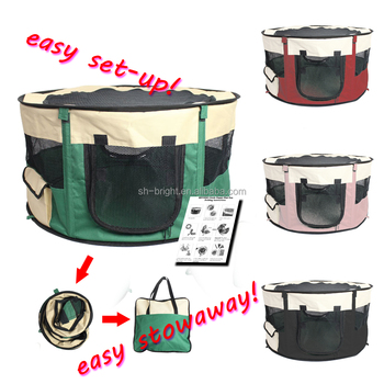 Hot Selling Rabbit Playpen, Folding Pet Playpen
