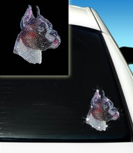 Fashing Boston Terrier Head Design Sticker Projects