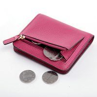 Lady Lovely Leather Small Wallet Purse with Coin Pocket Multi color Women wallets