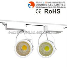 industrial illumination 20w/30w cob led track light with1800-3300 lumens