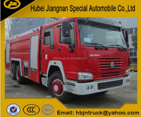 JDF5280GXFPM120Z 12000liters Howo brand fire fighting truck