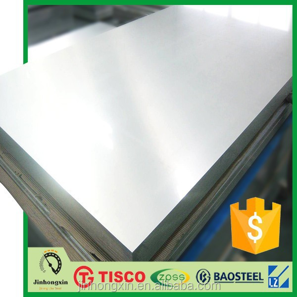 2B finish astm 304 steel plate standard thickness TISCO stainless steel sheet