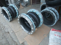 PN16/10 Flange Type Galvanized Rubber Expansion Joint