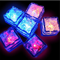 Novelty LED Glow Ice Cubes Color