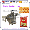 YB-300LD chain bucket type big granule packing machine for Nuts / puffed food / shrimp crackers chips