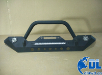 07-14 Wrangler Front Bumper For Jeep Wrangler Bumper With LED Lights
