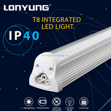 Replace fluorescent tubes Lighting Fixtures Exhibition 9w-44w t8 led tube light 1200mm