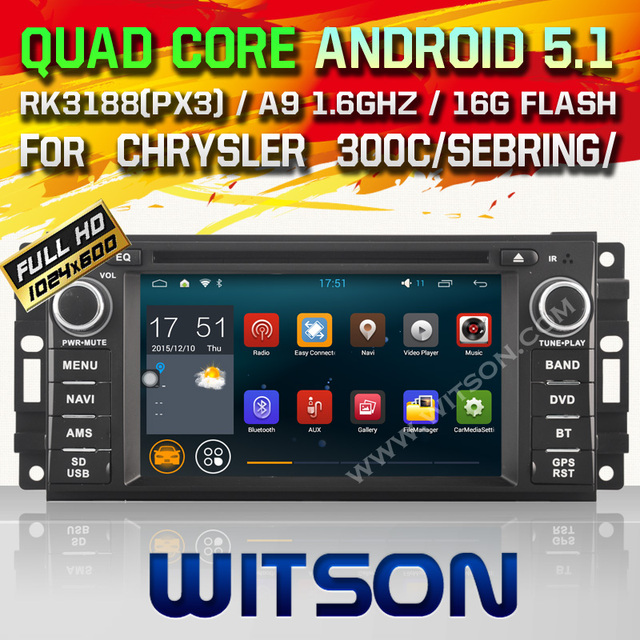 WITSON Android 5.1 car dvd For JEEP COMPASS COMMANDER PATRIOT with Quad Core Rockchip 3188 1080P 16g ROM WiFi DVR Picture