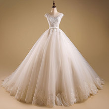 C72310A Newest Design Elegant Floor-Length Wedding Dress Bridal Gown