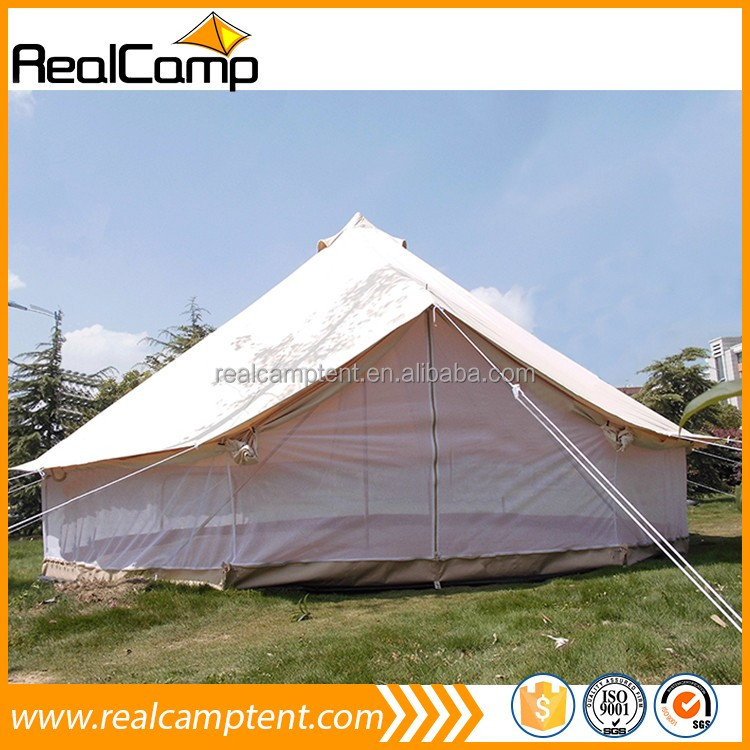 4m,5m,6m Cotton Canvas waterproof Bell Tent