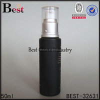 Amazing Spray pump glass Bottle-wholesale New products fine mist black refill body glass perfume bottle 50ml-alibaba made china