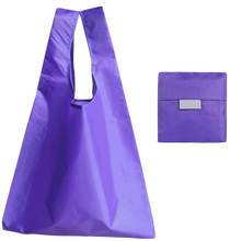 Fashion Cheap Promotions Eco Friendly Waterproof Nylon Polyester Fold Shopping Bag T-Shirt Shopping Tote Bag