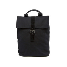New design Fashion Soft Canvas Day Pack Backpack Black
