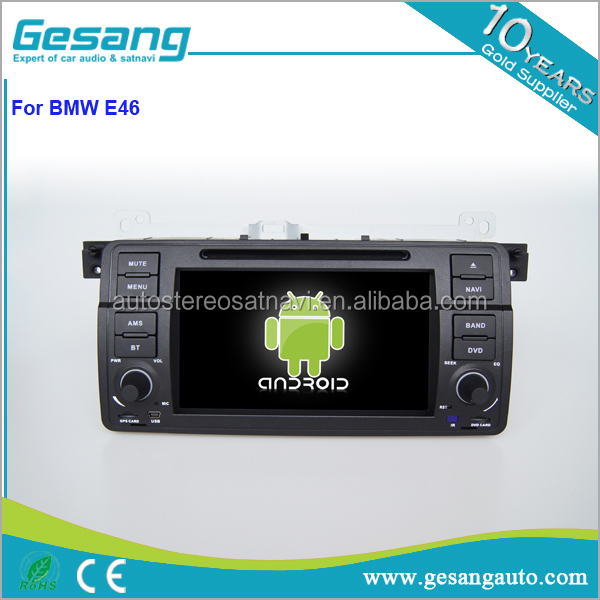 OEM Double Din android Car radio gps for BMW E46 with Built-in Bluetooth Hand Free Call