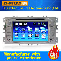 2 din windows CE 6.0 car DVD player for Ford with GPS navigation usb2.0 vedio bluetooth 8G map card radio multilanguages