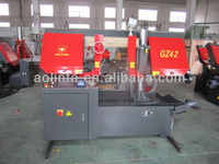 GZ4232 ball screw system full automatic band saw,CE standard,exported model
