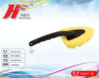 Best Sell Professional Car Cleaning Sponge with Brush Handle /CWHF-36
