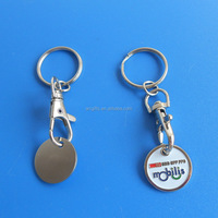 Imprint Enamel One Pound Custom Coin For Shopping Carts