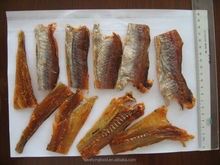 dried blue whiting block fish snack