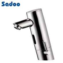 Luxury bathroom design chrome plating basin faucet water tap