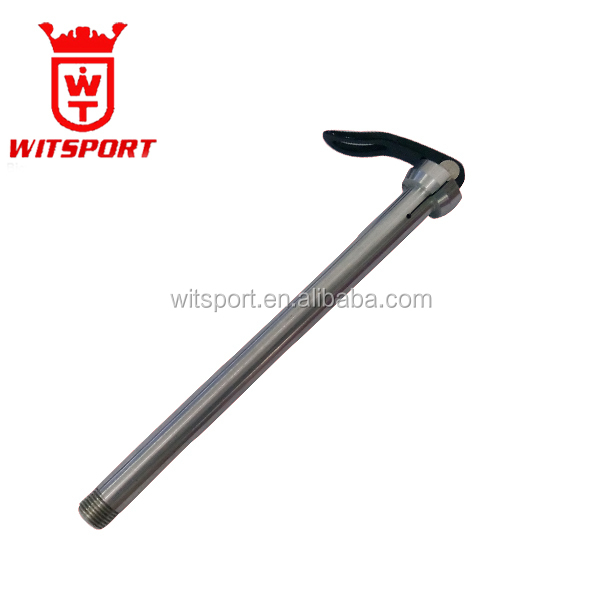 wholesale bicycle rear axle/customized rear bicycle quick release thru axle/aluminum alloy bicycle rear quick release axle
