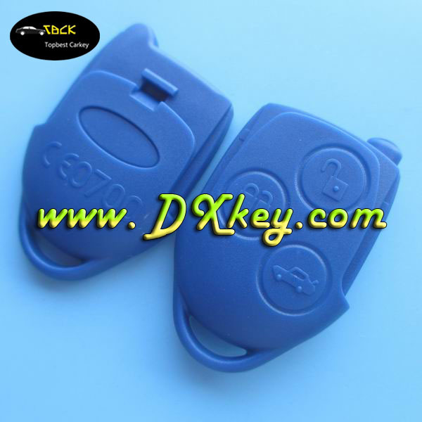 Original car smar key with 3 button for remote key fod Ford remote key 433mhz with 4D63 chip