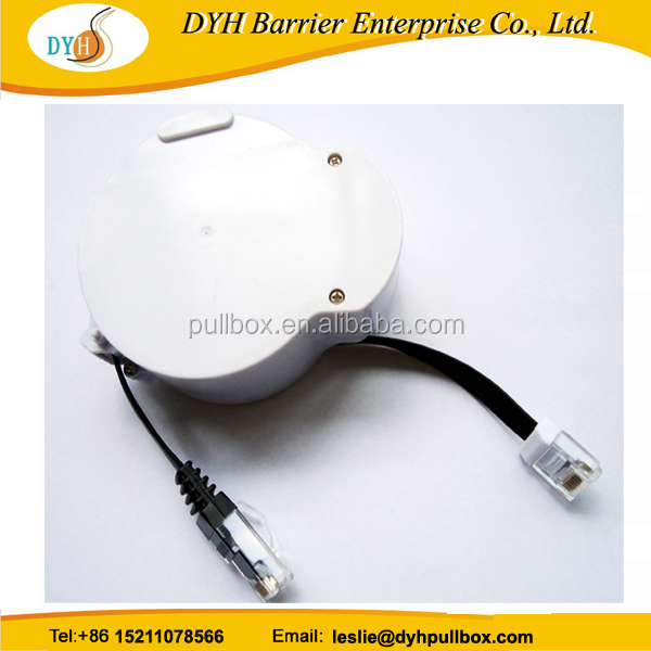 China high quality ABS shell 3.0 USB extension cord reels retractable