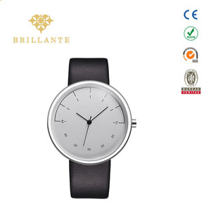 Build Your Own Brand Watches Men Genuine Leather Custom Logo Wrist Watch Company Firm Name Customized Watch