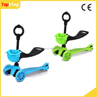 Popular New Toys mini 3in1 Child Kick Scooter / Baby scooter with 3 led wheels