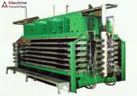 Tyre tread curing vulcanized press machine
