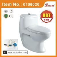Ceramic bathroom one piece toilet WC
