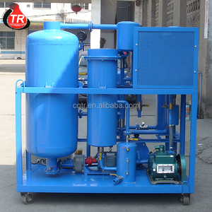 Anti-Explosion Mobile Turbine Oil And Lube Oil Refinery Machine With Oil Filter Elements