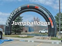 2012 China Inflatable Finish Line Arch