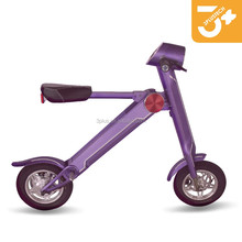easy electric folding Smart scooter self balancing two wheeler electric scooter motorcycle
