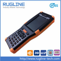 IP65 pda Barcode Android Scanner with 26 keys letters-digit shift backlit keyboard