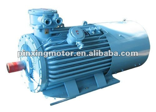 YB seriesof flame-proof High-voltage three-phase induction Motors 6.6KV