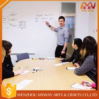Factory sale various office meeting whiteboard wall sticker