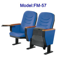 No.FM-57 Conference chair with writing pad