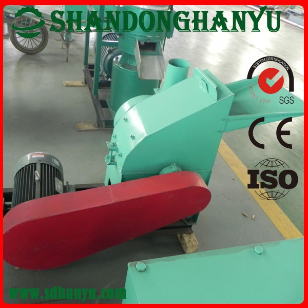 Disc wood chipper machine for cutting high quality wood chips