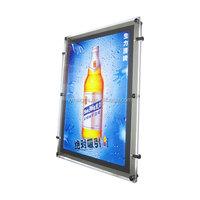 Billboard Advertising, LED Static Mupi Light Boxes with Aluminium Frame