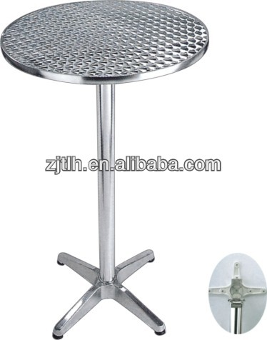 Foldable Aluminum Bistro/Bar Table